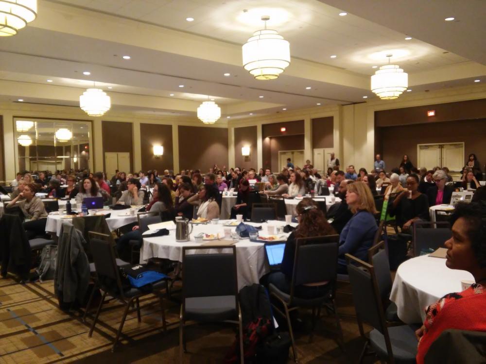 NESAWG 2015 Conference ballroom