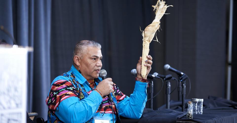 Chief Vincent Mann of the Ramapough Lenape Turtle Clan